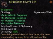 Targonorian envoy's belt