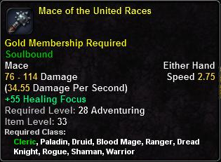 Mace of the United Races