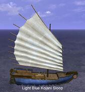 Light Blue Kojani Sloop