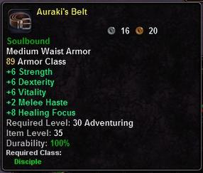 Auraki's Belt