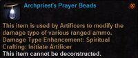 Archpriest prayer beads