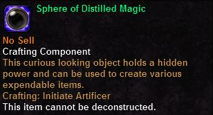 Sphere of Distilled Magic