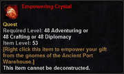 Empowering Crystal