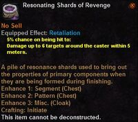 Resonating shards revenge