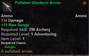 Polished Warden's Arrow