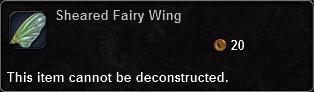 Sheared Fairy Wing