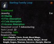 Starling Family Loop
