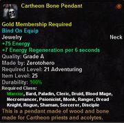 Cartheon Bone Pendant