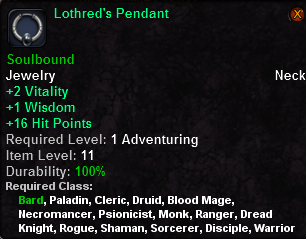 Lothred's Pendant