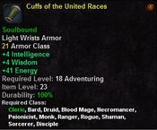 Cuffs of the united races