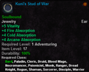 Kuni's Stud of War