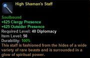 High shaman staff