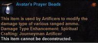 Avatars prayer beads