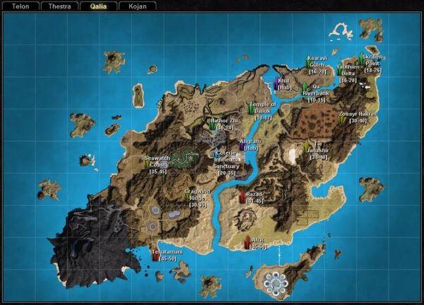 Rifts qalia map