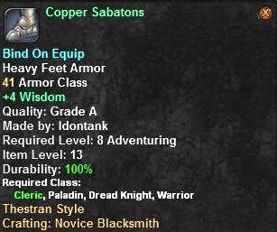 Copper Sabatons