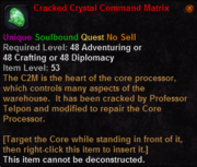 Cracked Crystal Command Matrix
