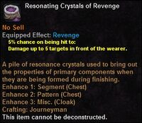 Resonating crystals revenge
