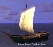 Forest Green Thestran Sloop
