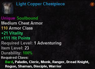 Light Copper Chestpiece