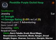 Pershillie Purple Orchid Hoop