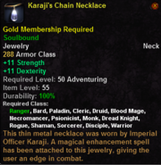 Karaji's Chain Necklace