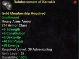 Karrakis's Armor