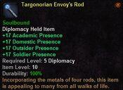 Targonorian envoy's rod
