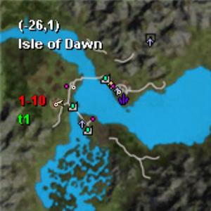 Gai's Nousa Location