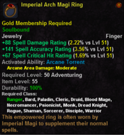 Imperial Arch Magi Ring