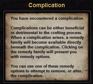 Hint complication