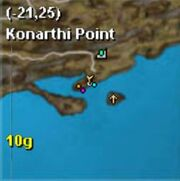 Map thestra konarthi point