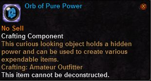 Orb of Pure Power