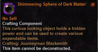 Orb of Dark Matter
