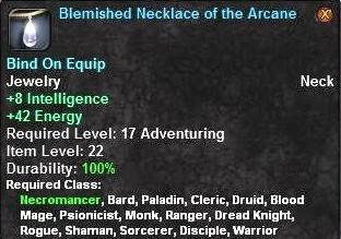 Blemished Necklace of the Arcane