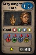 Gray knight lore