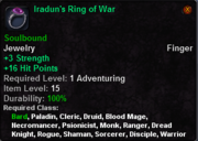 Iradun's Ring of War