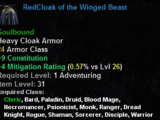 RedCloak of the Winged Beast