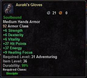 Auraki's Gloves