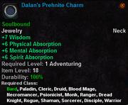 Dalan's Prehnite Charm