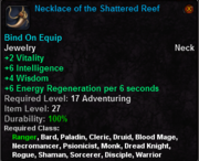Necklace of the Shattered Reef
