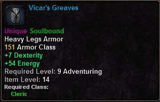 Vicar's Greaves