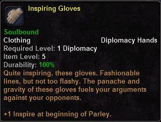 Inspiring Gloves