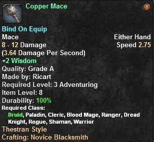 Copper Mace