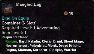 Mangled Bag