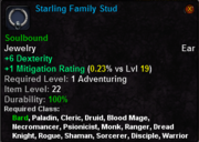 Starling Famly Stud