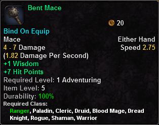 Bent Mace