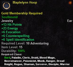 Maplelynn Hoop