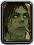 Icon orc female