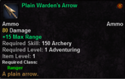 Plain Warden's Arrow