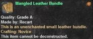 1 Mangled Leather Bundle